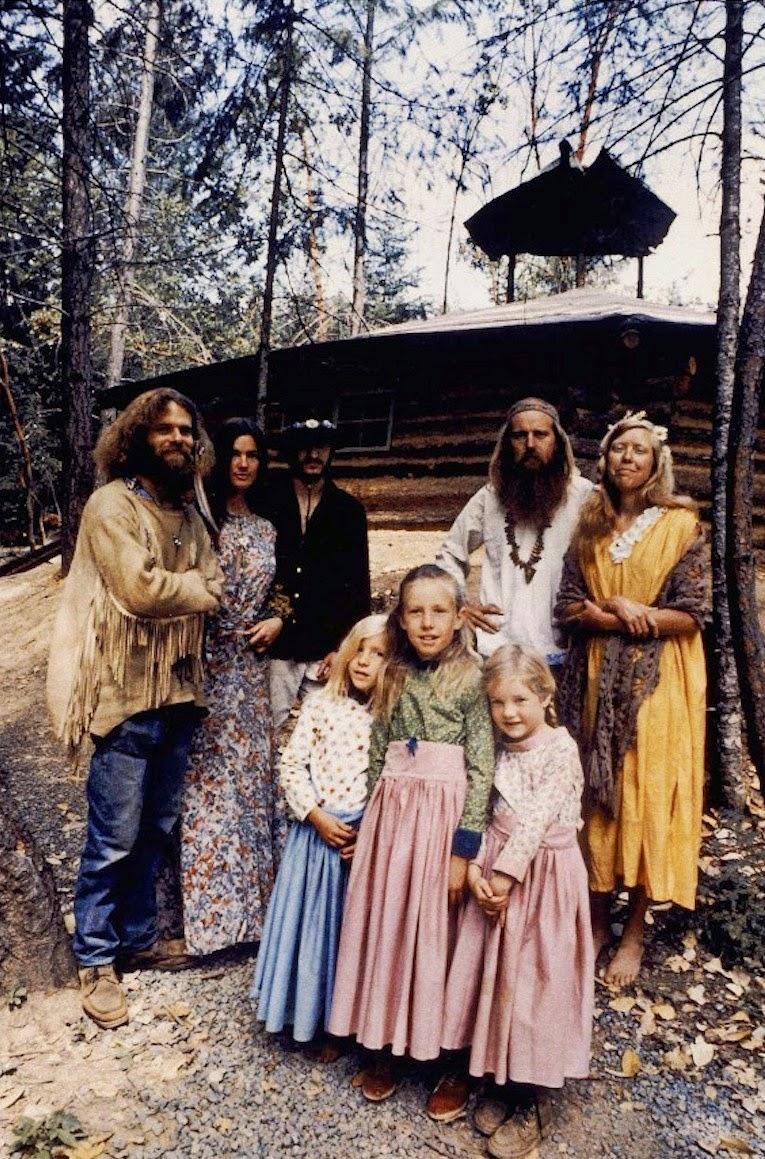 fotografii obschiny amerikanskih hippi 3