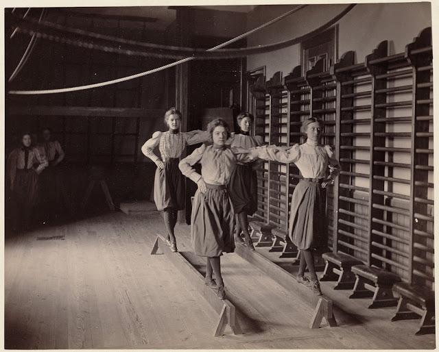 retro fotografii fizkultura v Bostone 15