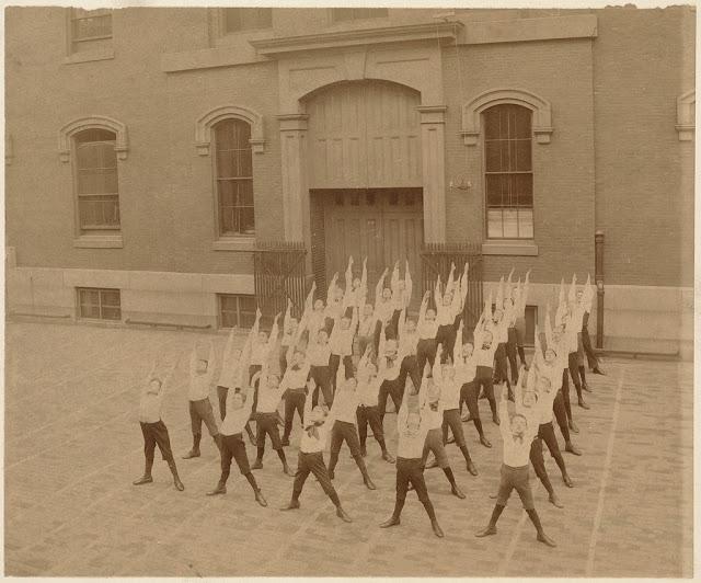 retro fotografii fizkultura v Bostone 6