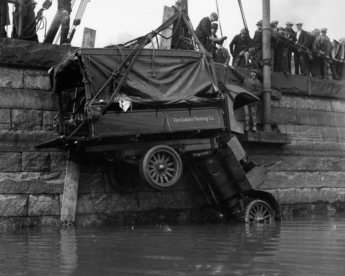 Fotograf Lesli Dzhons avtomobilnye avarii 11