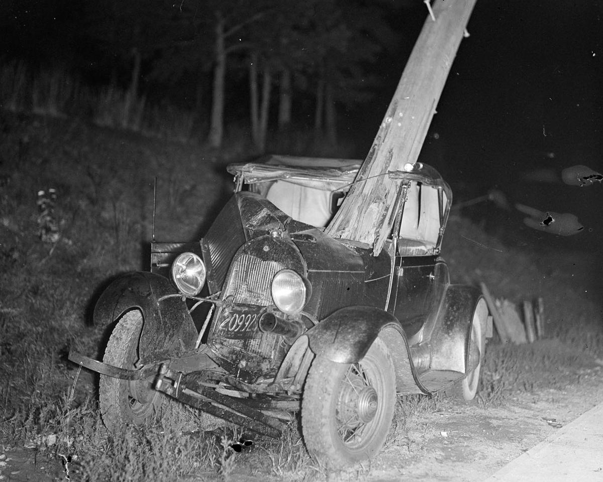 Fotograf Lesli Dzhons avtomobilnye avarii 15
