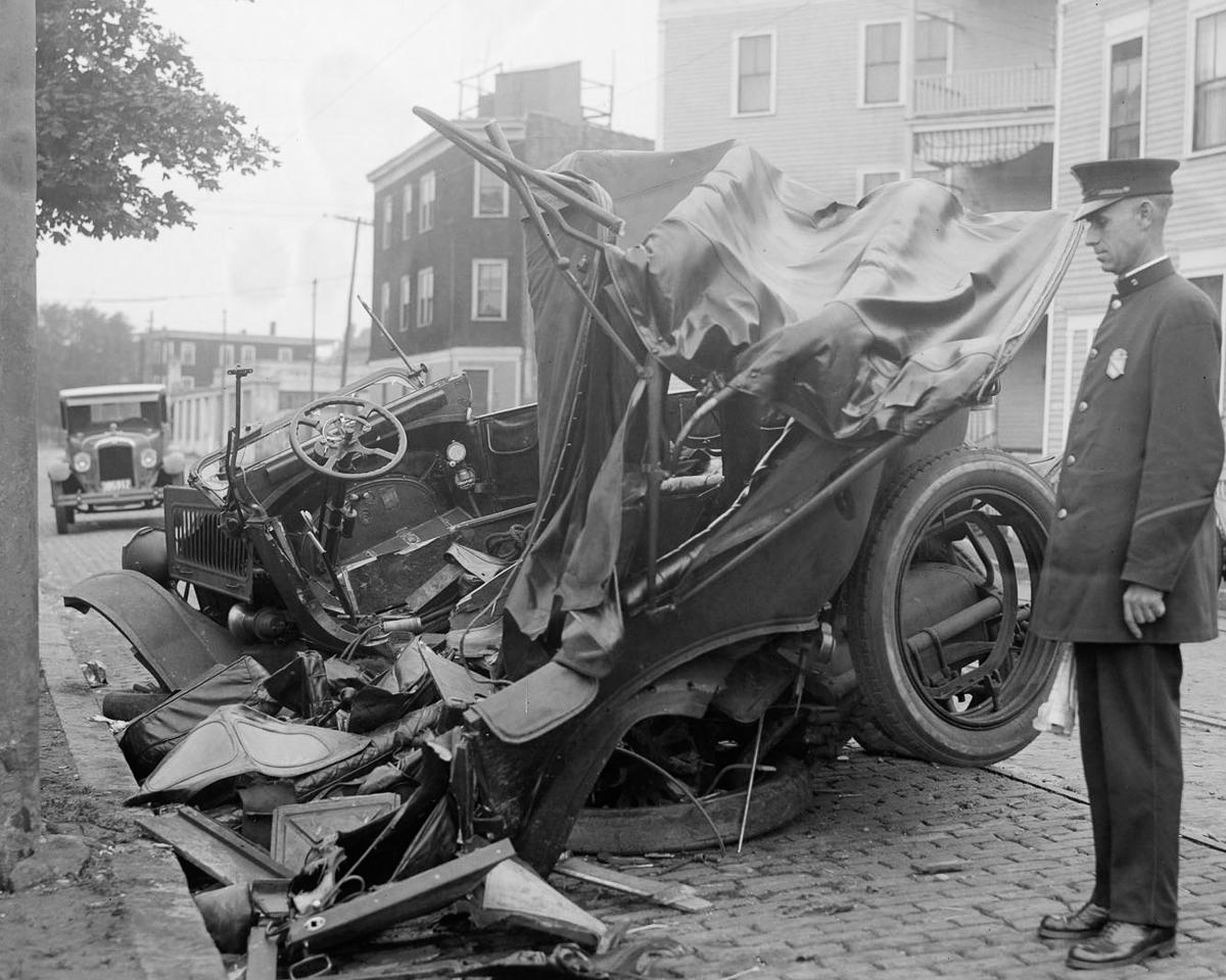 Fotograf Lesli Dzhons avtomobilnye avarii 17