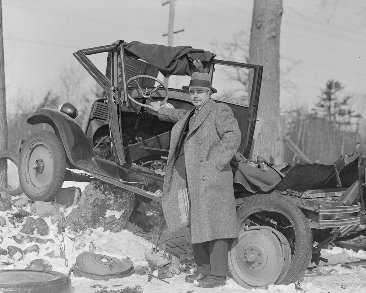 Fotograf Lesli Dzhons avtomobilnye avarii 21