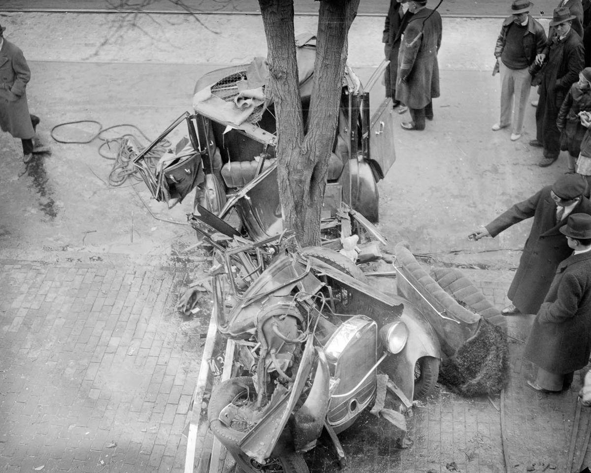 Fotograf Lesli Dzhons avtomobilnye avarii 25