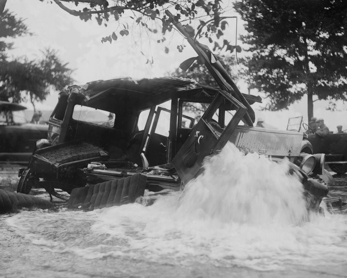 Fotograf Lesli Dzhons avtomobilnye avarii 31