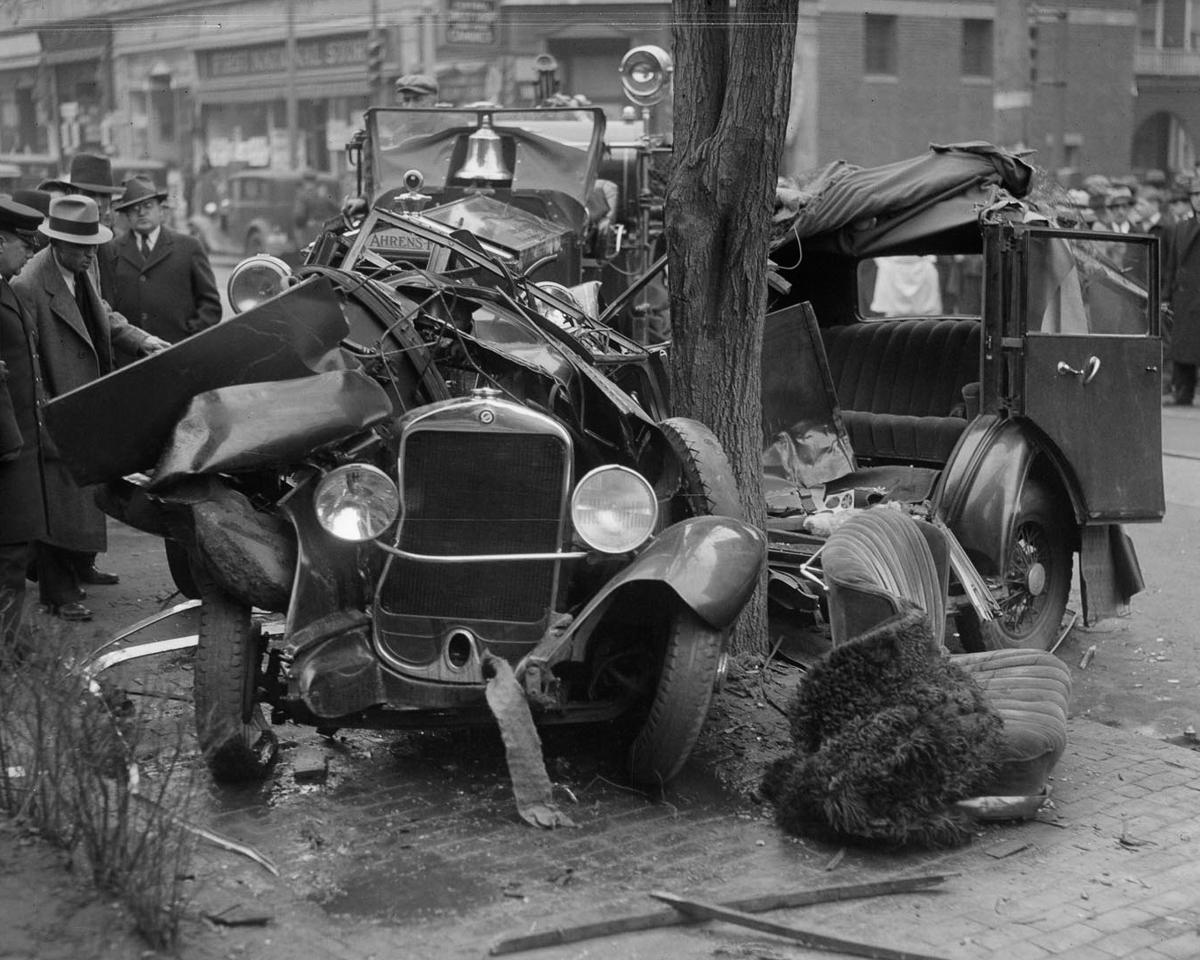 Fotograf Lesli Dzhons avtomobilnye avarii 8
