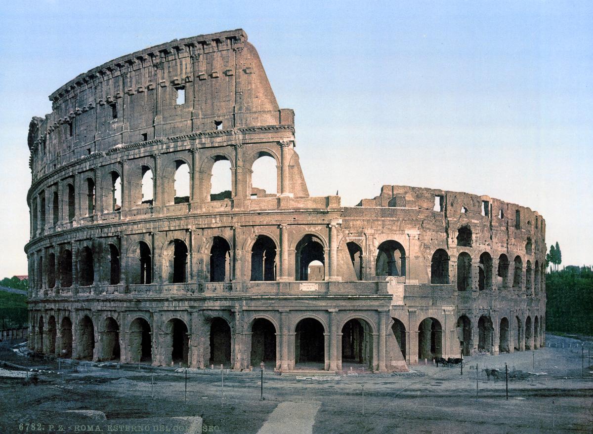 dostoprimechatelnosti Rima starye otkrytki 1