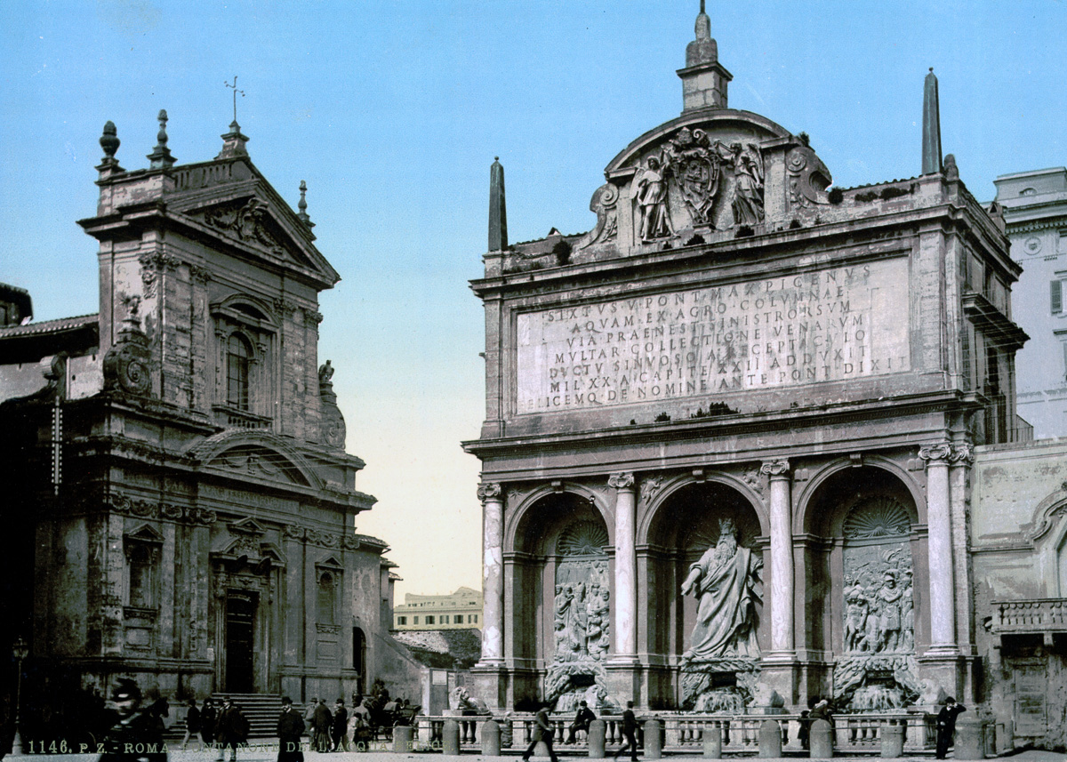 dostoprimechatelnosti Rima starye otkrytki 13