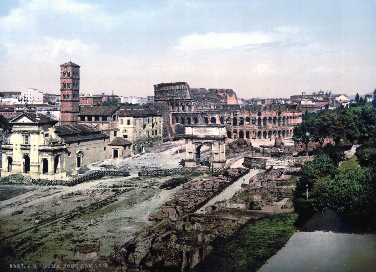 dostoprimechatelnosti Rima starye otkrytki 15