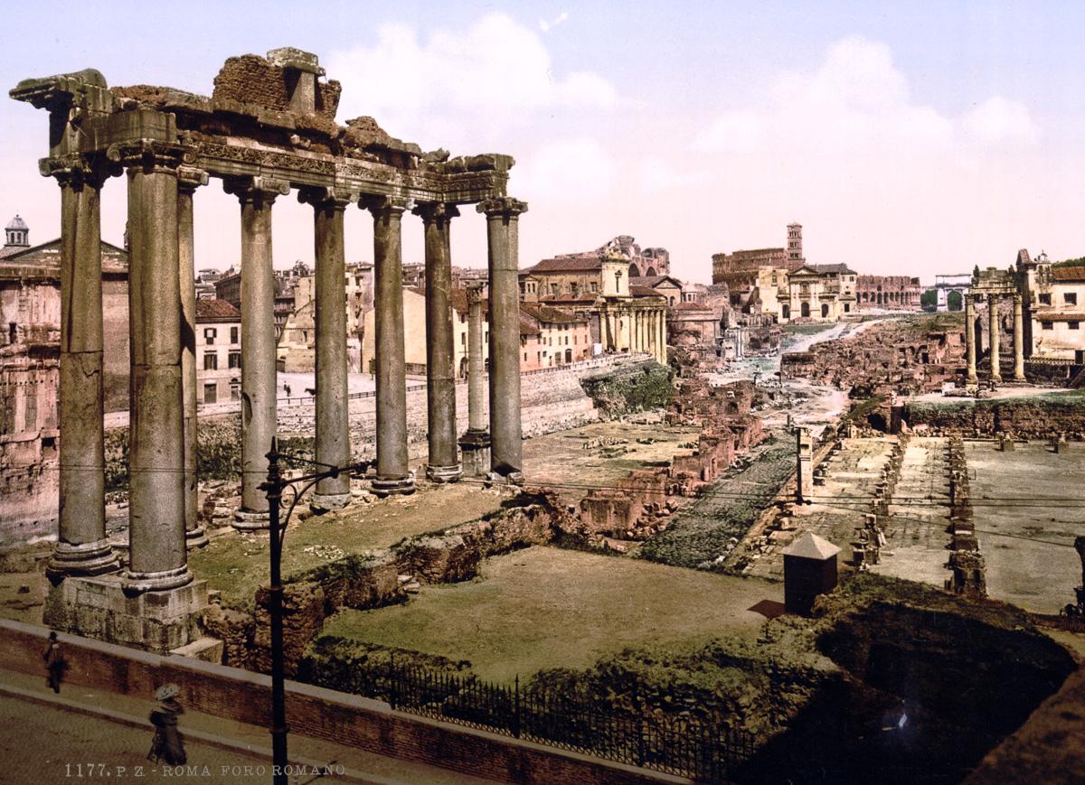 dostoprimechatelnosti Rima starye otkrytki 16