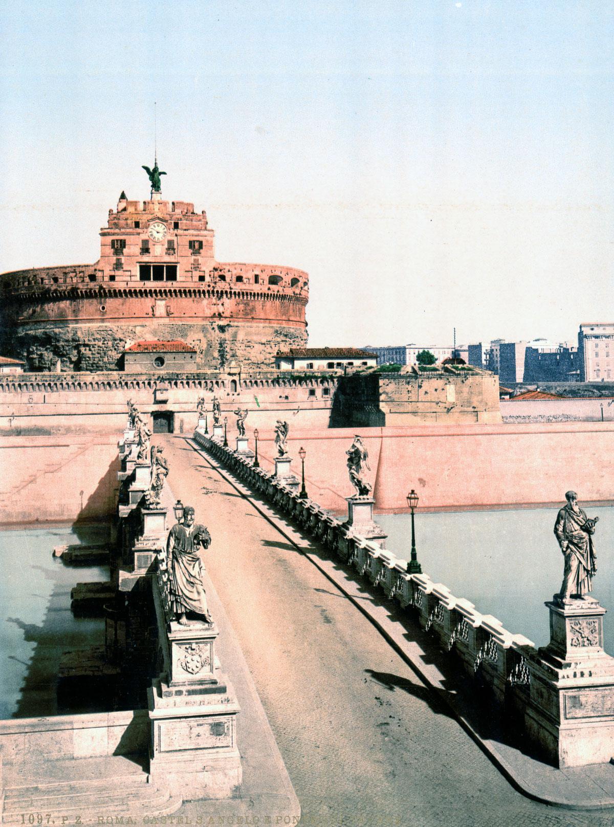 dostoprimechatelnosti Rima starye otkrytki 19