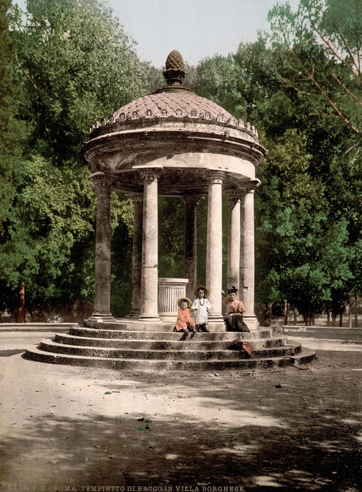 dostoprimechatelnosti Rima starye otkrytki 21