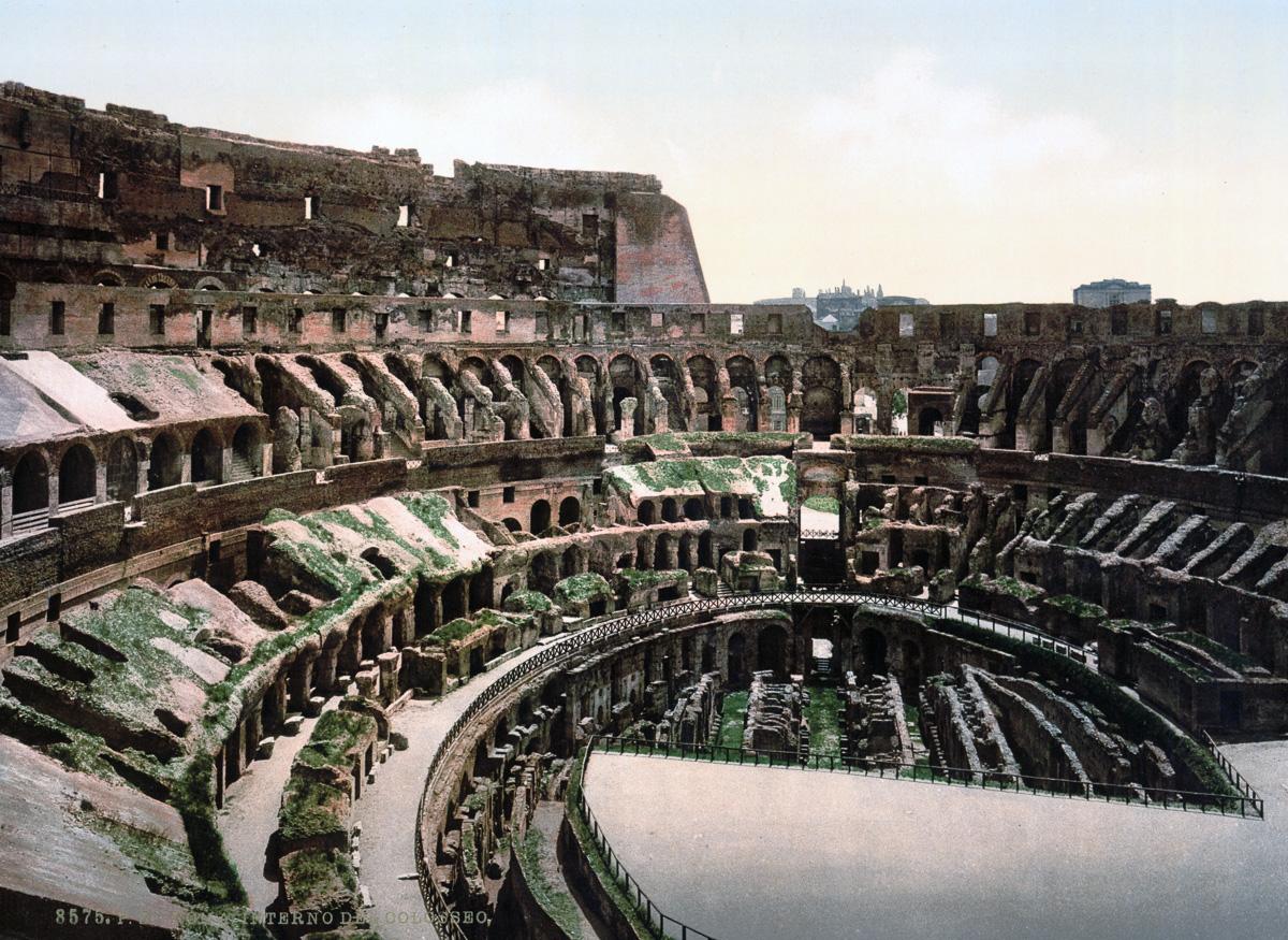 dostoprimechatelnosti Rima starye otkrytki 22