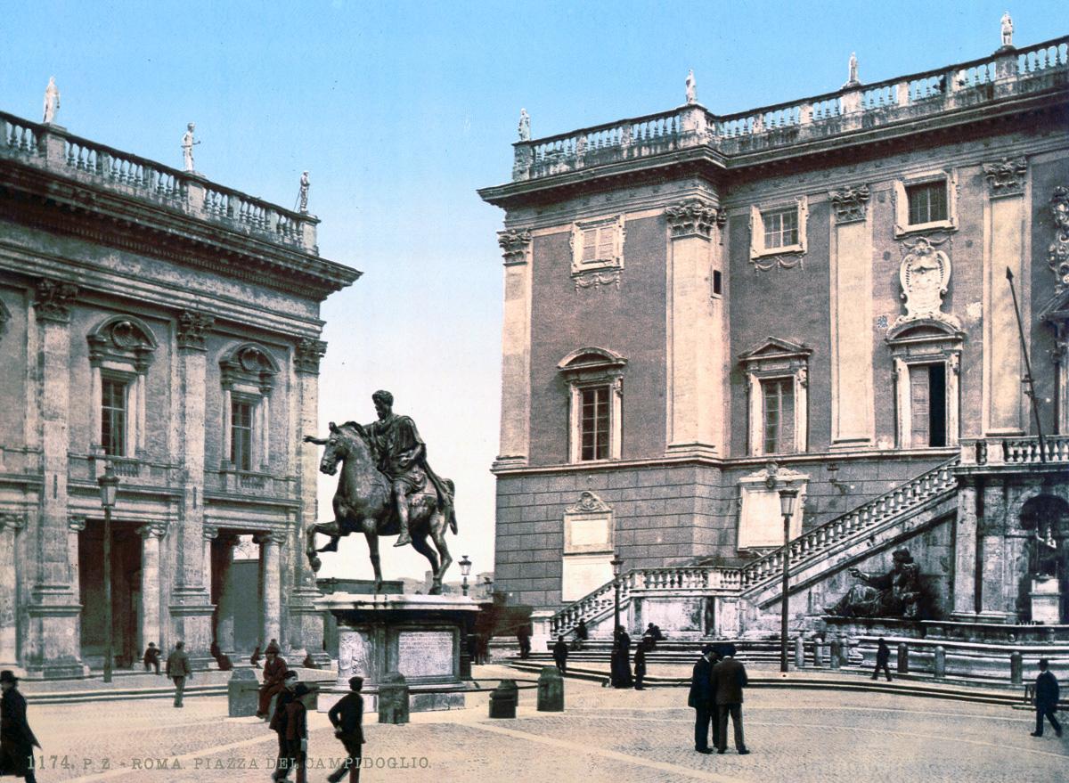 dostoprimechatelnosti Rima starye otkrytki 25