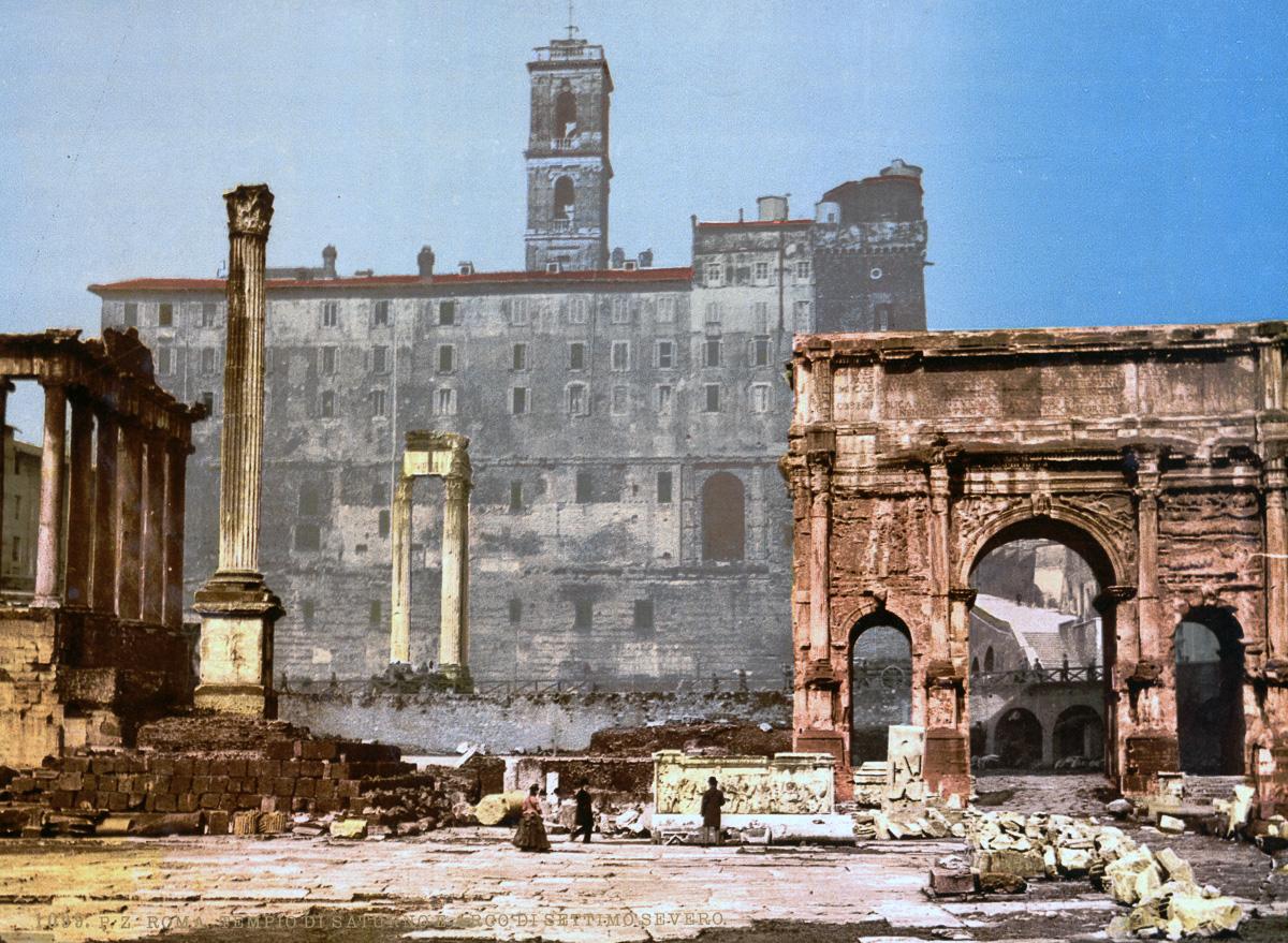 dostoprimechatelnosti Rima starye otkrytki 27