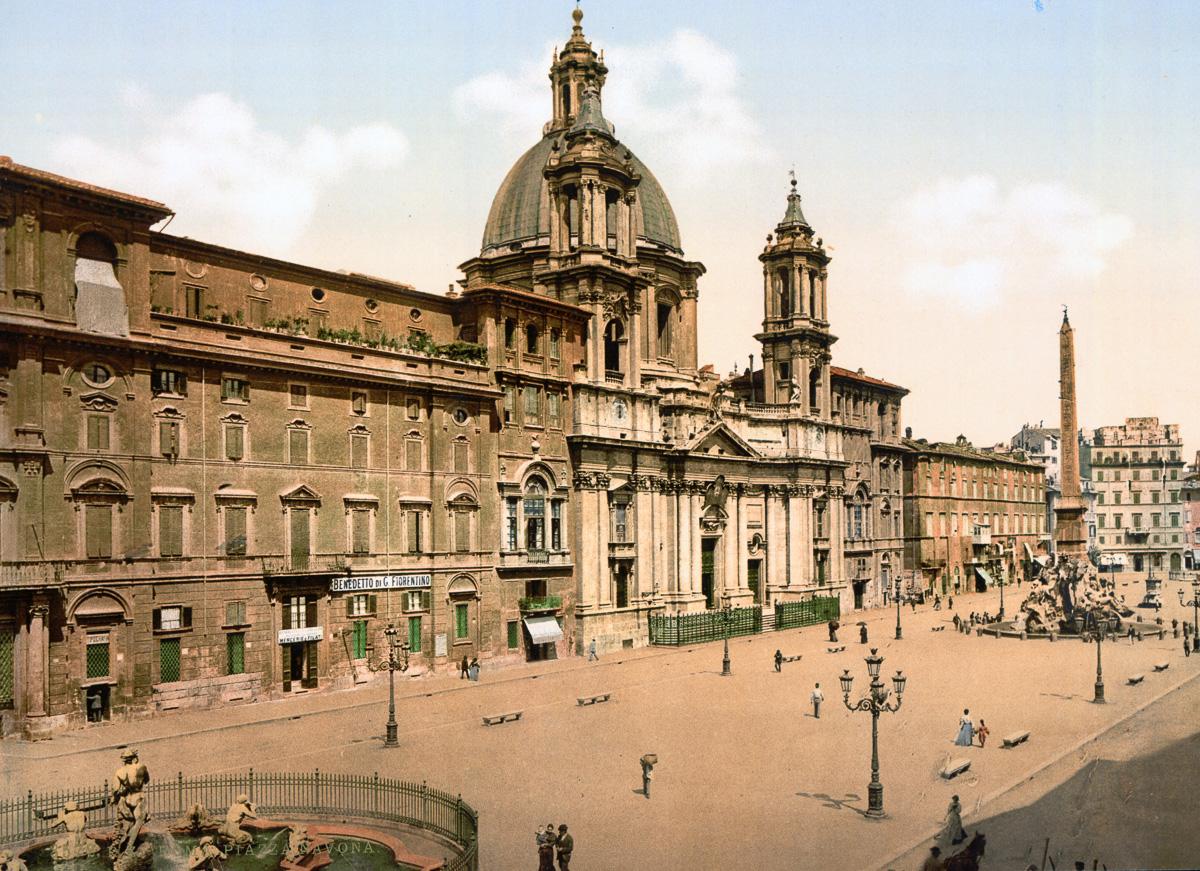 dostoprimechatelnosti Rima starye otkrytki 28