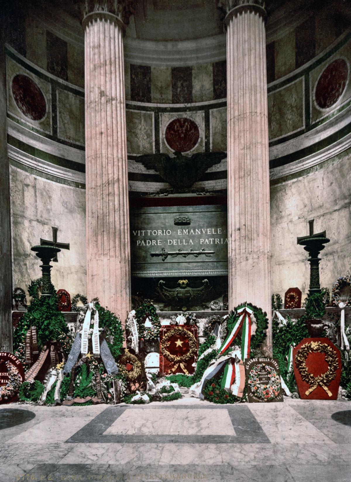 dostoprimechatelnosti Rima starye otkrytki 29