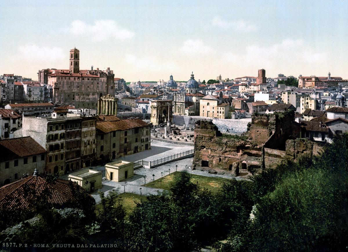 dostoprimechatelnosti Rima starye otkrytki 9