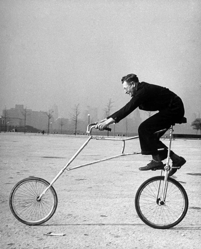 retro fotografii o strannyh velosipedah 1