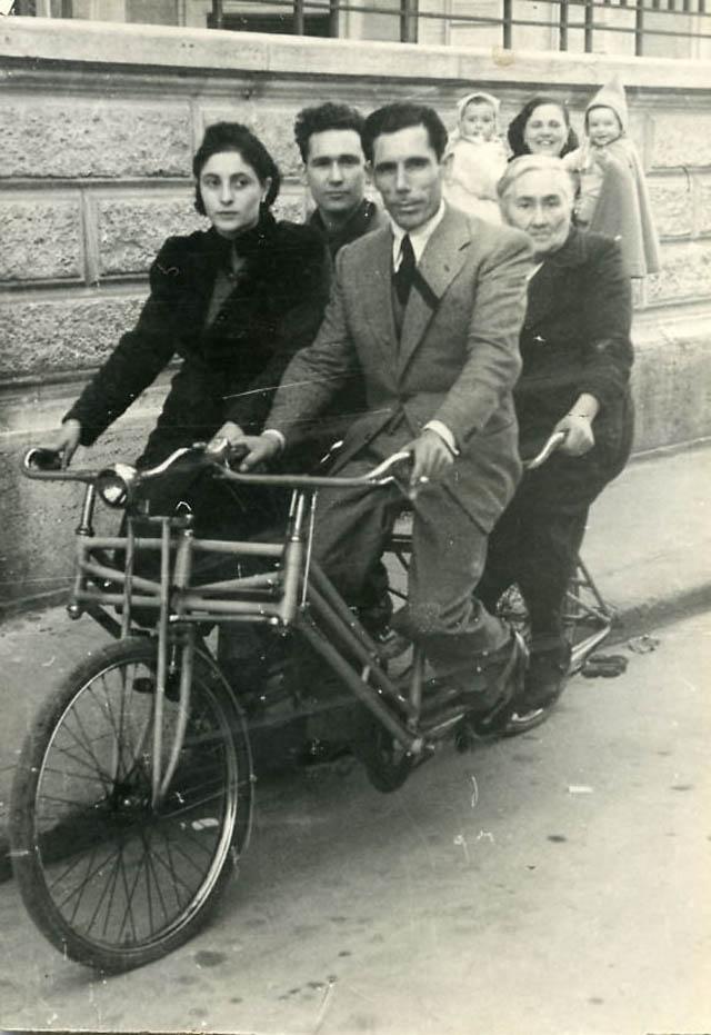 retro fotografii o strannyh velosipedah 17