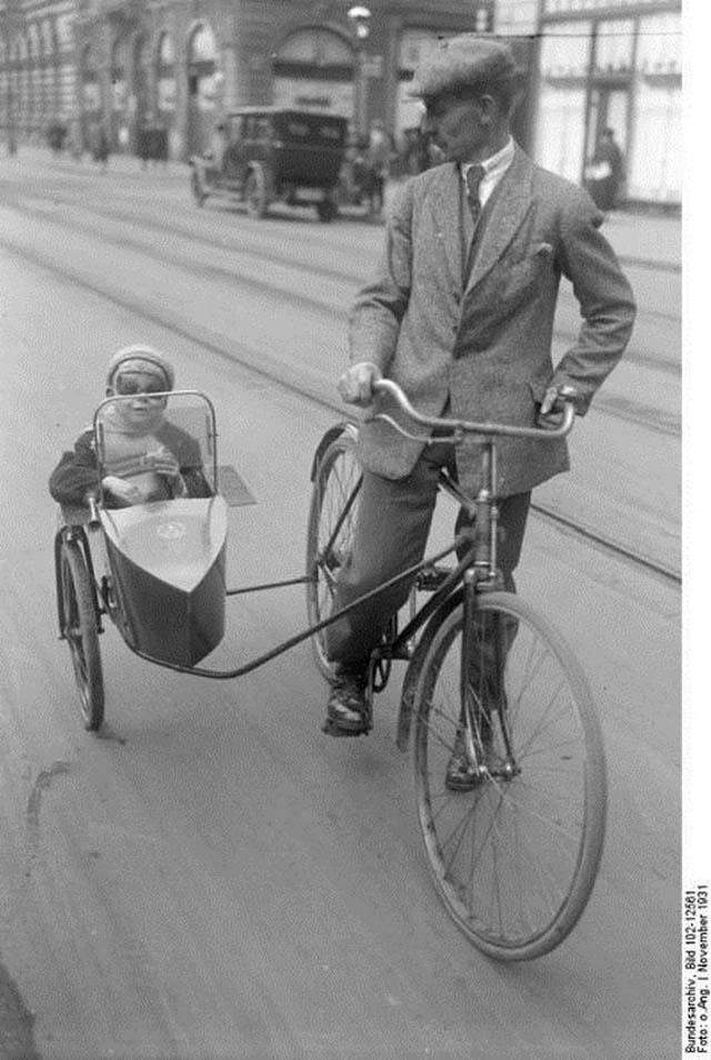 retro fotografii o strannyh velosipedah 3