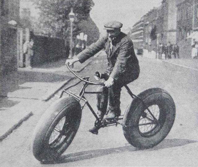 retro fotografii o strannyh velosipedah 7