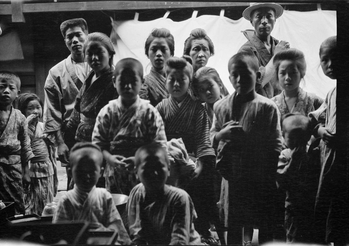 Yaponiya istoricheskie foto Arnold Dzhente 1