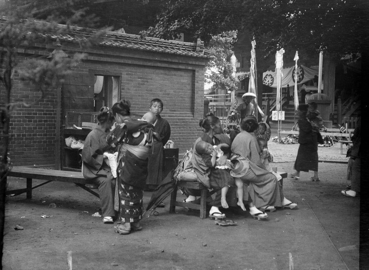 Yaponiya istoricheskie foto Arnold Dzhente 10