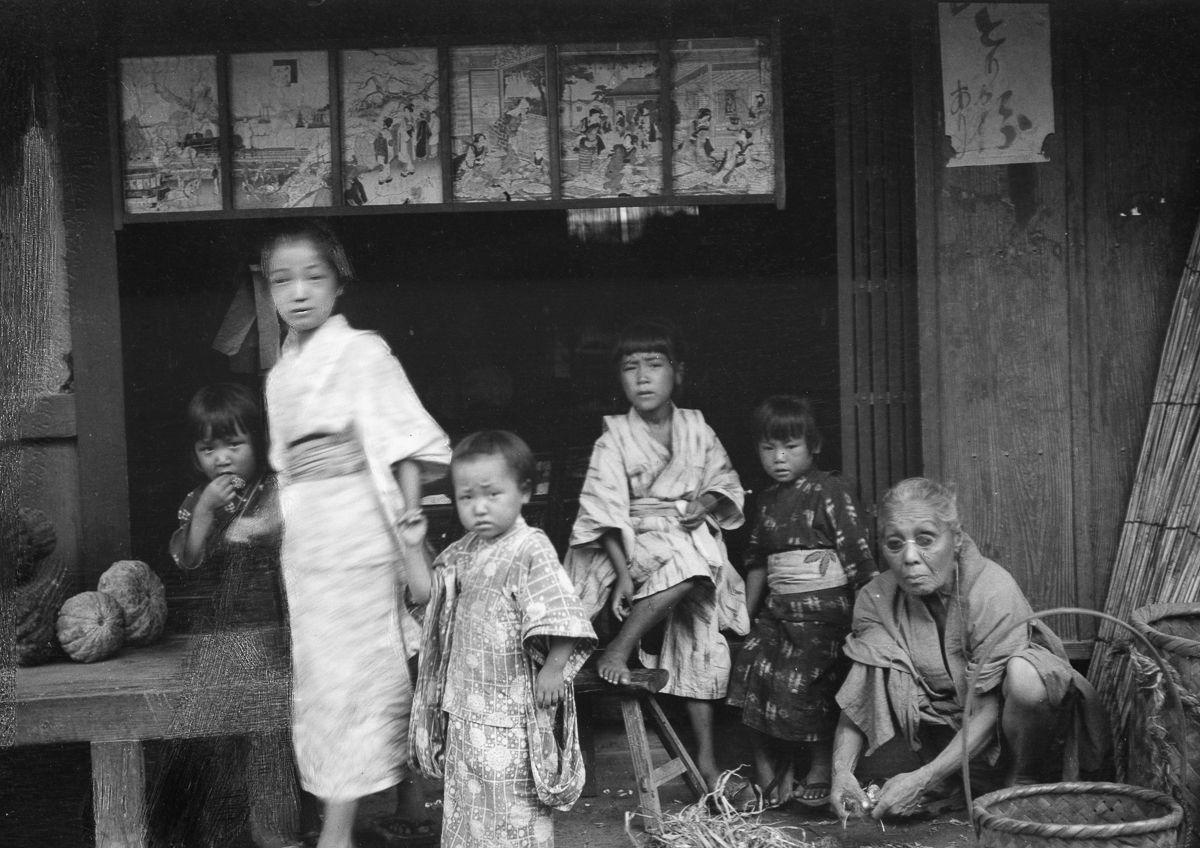 Yaponiya istoricheskie foto Arnold Dzhente 12
