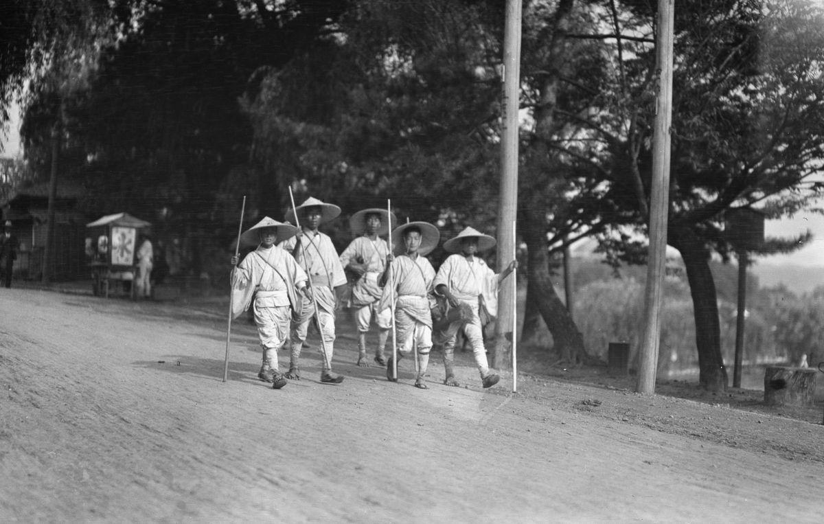 Yaponiya istoricheskie foto Arnold Dzhente 15