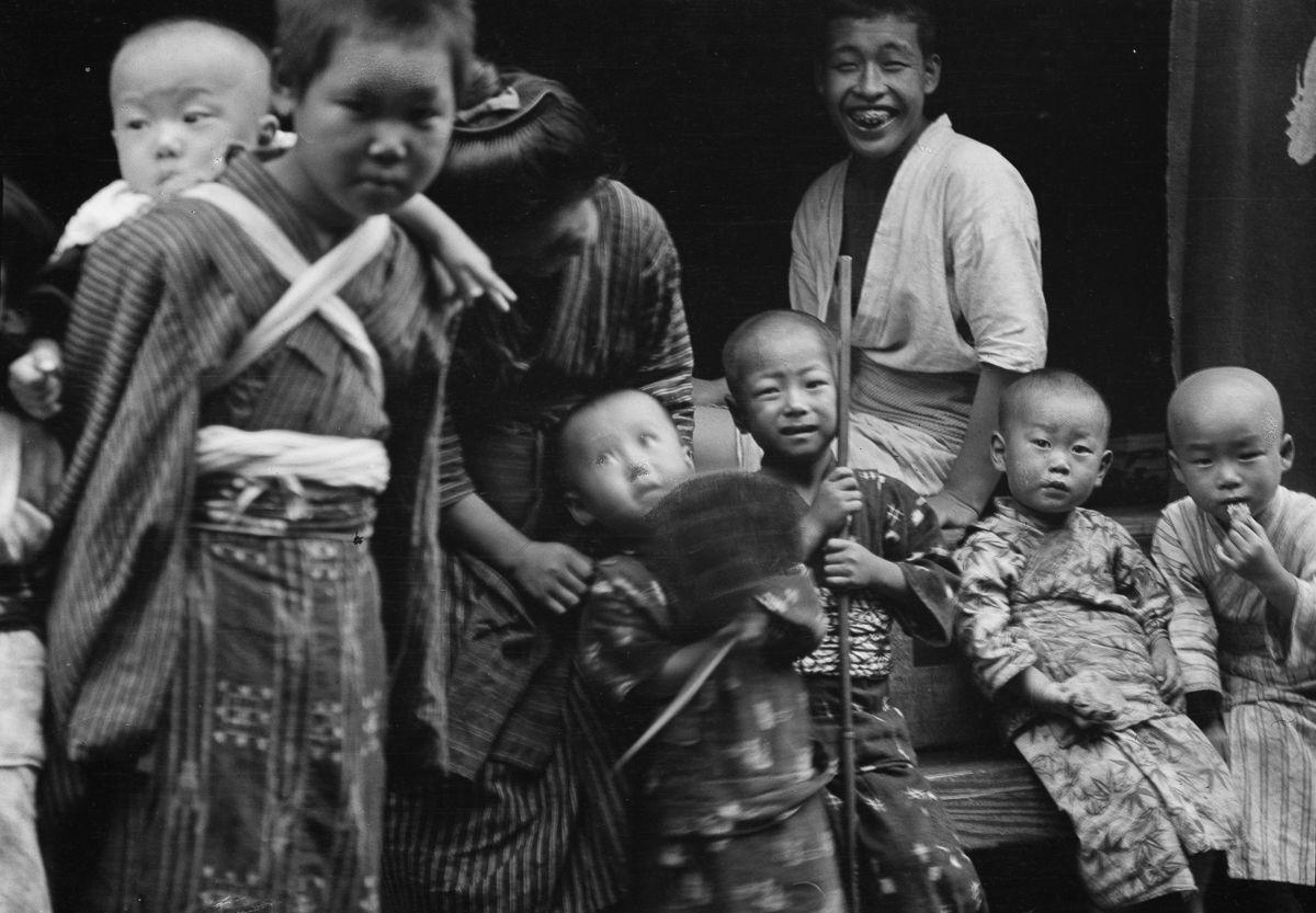 Yaponiya istoricheskie foto Arnold Dzhente 2