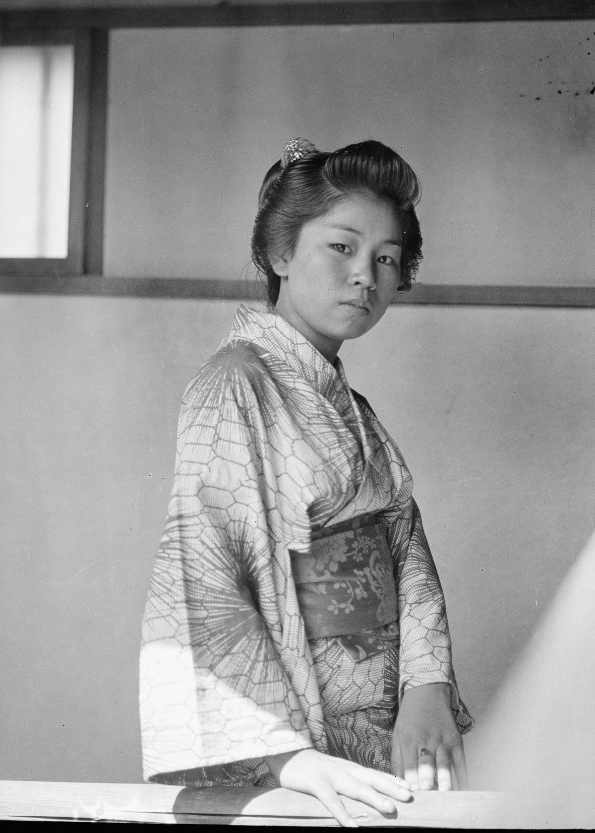 Yaponiya istoricheskie foto Arnold Dzhente 27