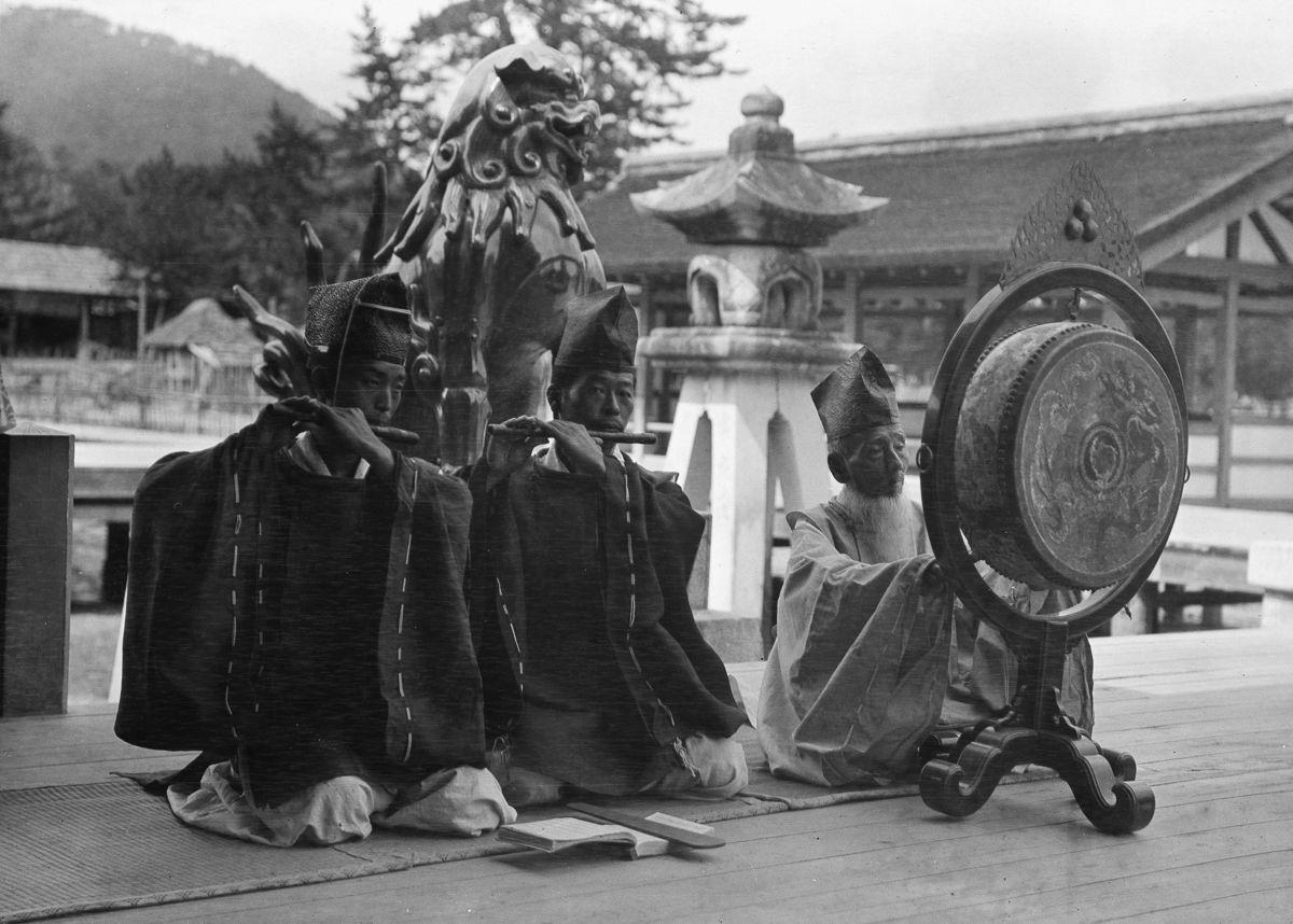 Yaponiya istoricheskie foto Arnold Dzhente 4
