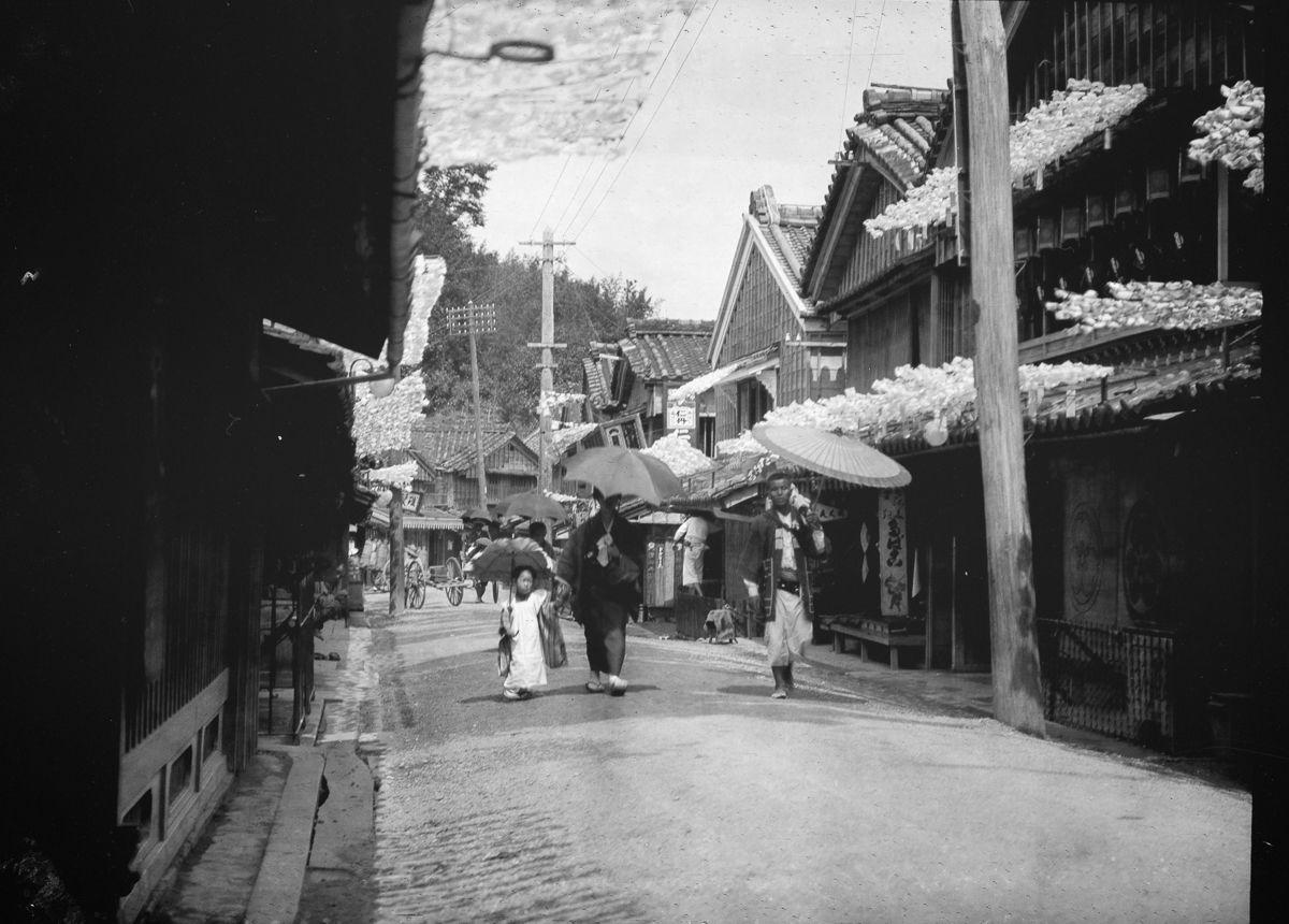 Yaponiya istoricheskie foto Arnold Dzhente 5