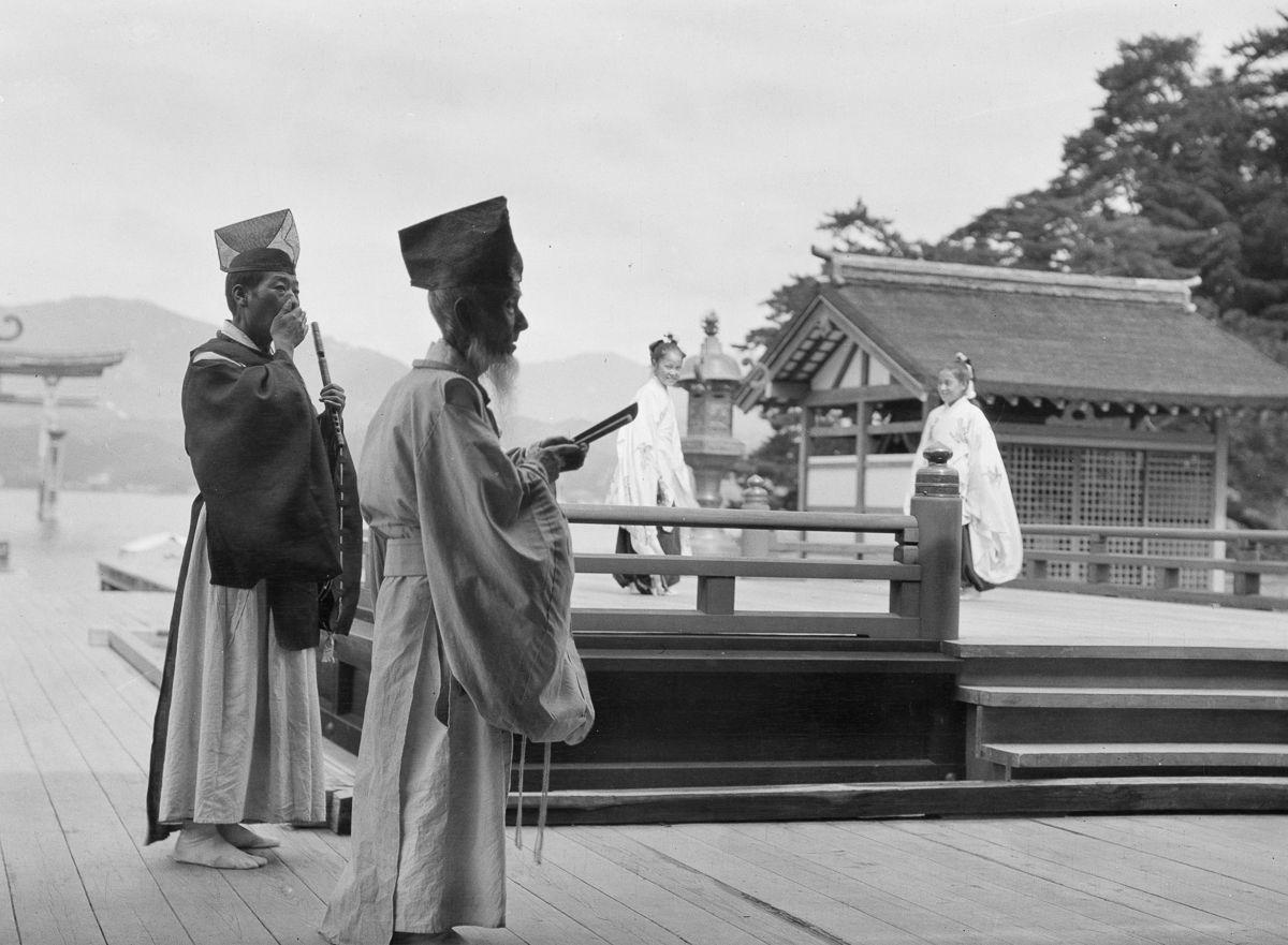 Yaponiya istoricheskie foto Arnold Dzhente 8