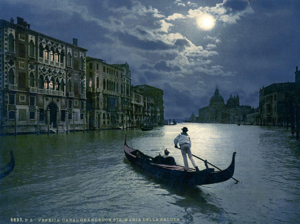 Венеция в цветных открытках 1890 года 1