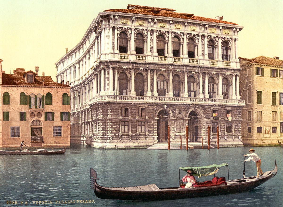 Венеция в цветных открытках 1890 года 14