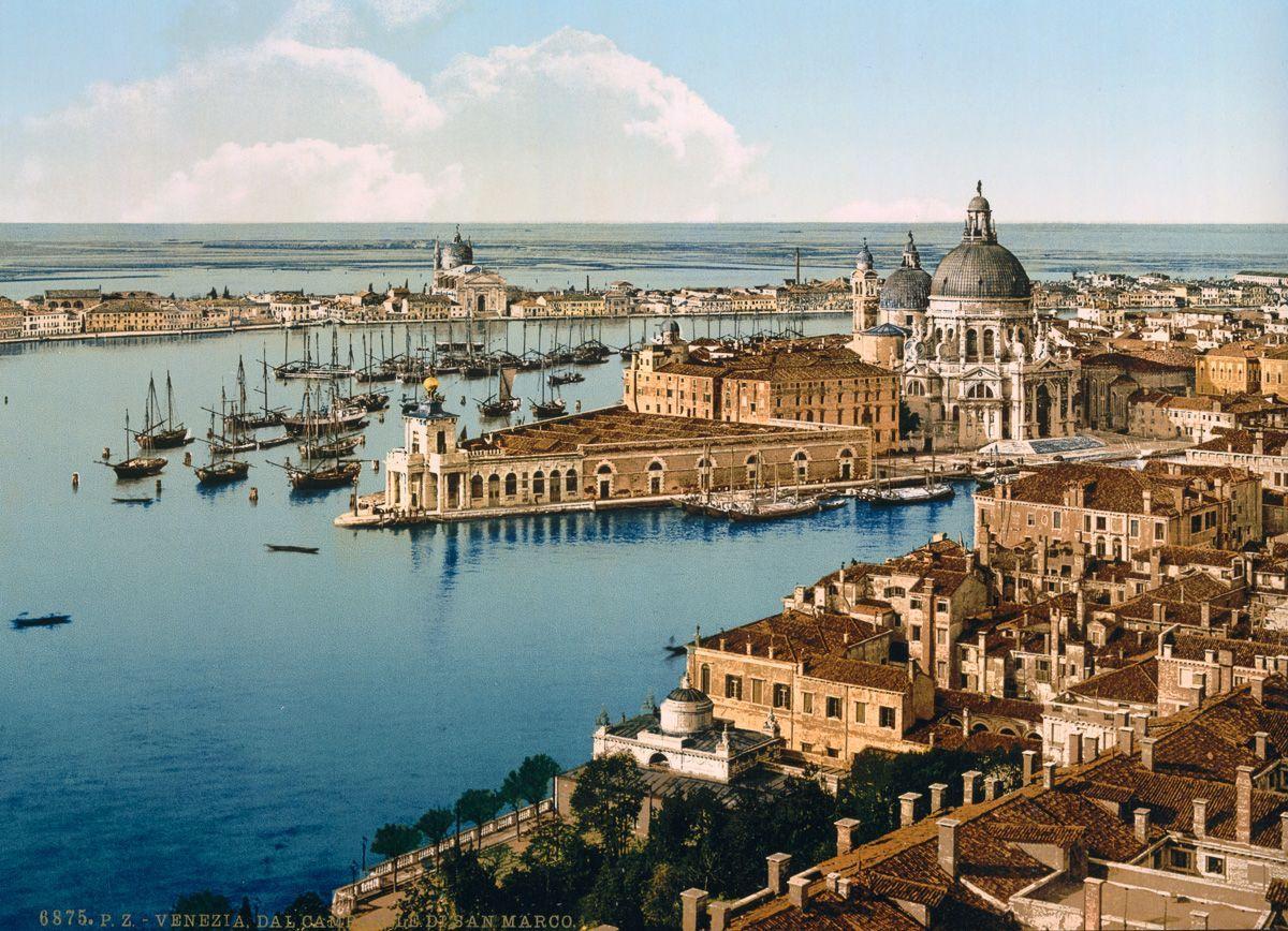 Венеция в цветных открытках 1890 года 2