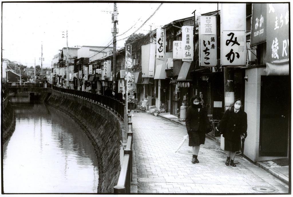 Токийский уличный фотограф Джунку Ниcимура 18
