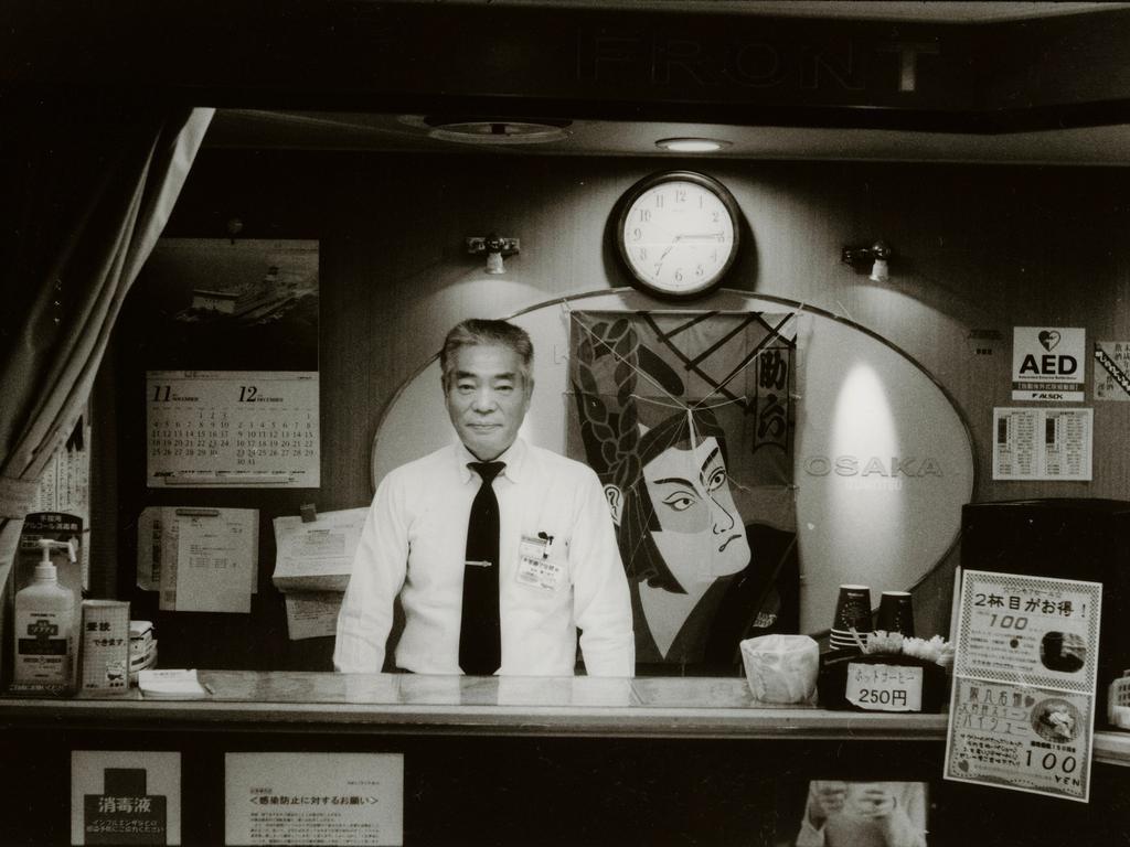 Токийский уличный фотограф Джунку Ниcимура 25