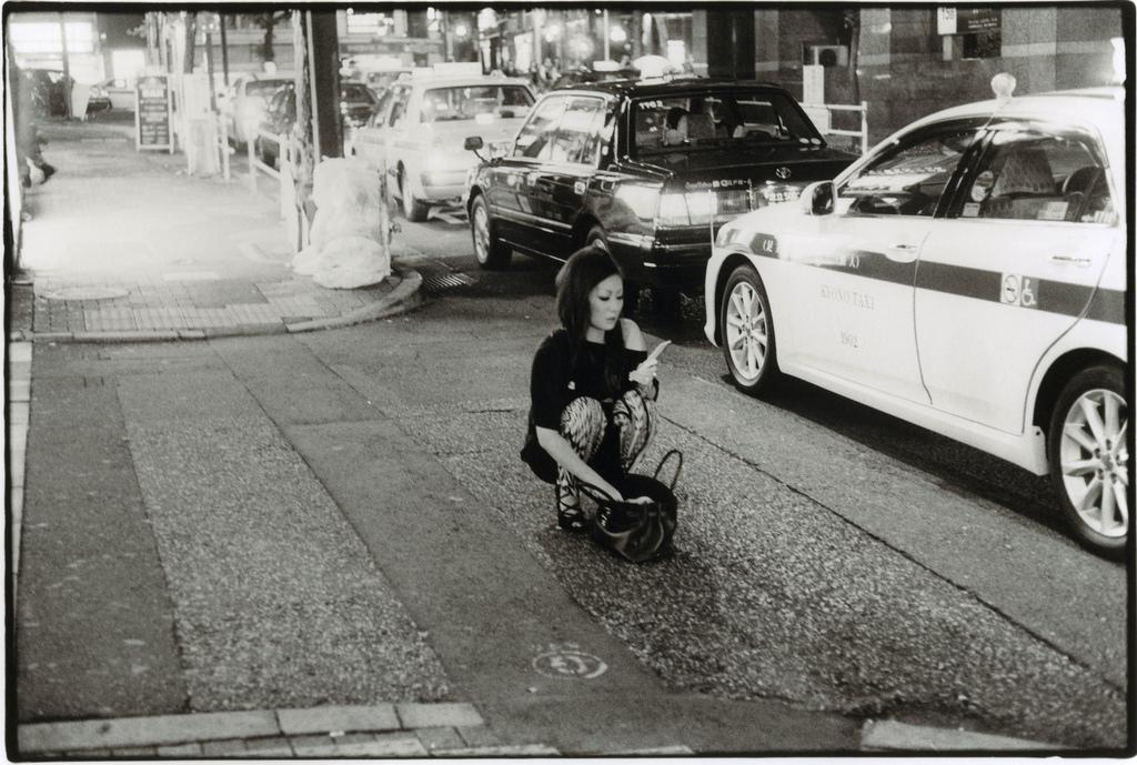 Токийский уличный фотограф Джунку Ниcимура 34