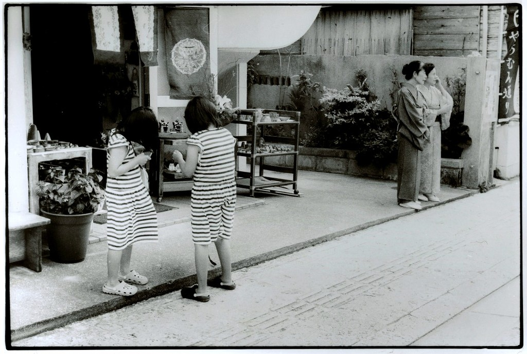 Токийский уличный фотограф Джунку Ниcимура 4