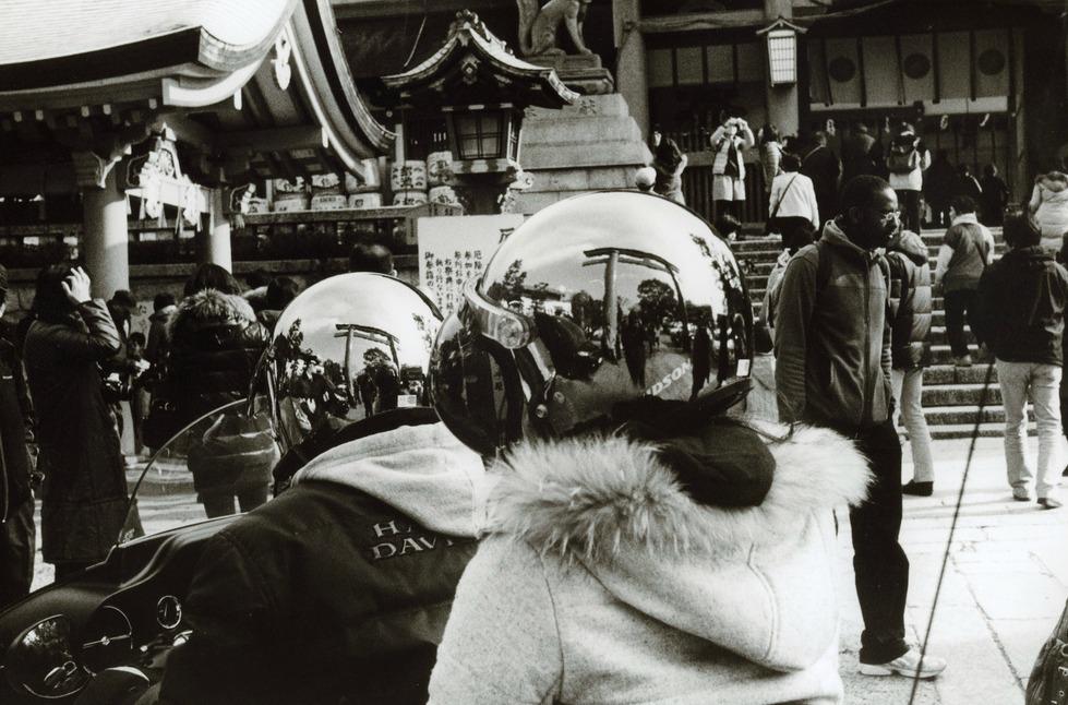 Токийский уличный фотограф Джунку Ниcимура 58