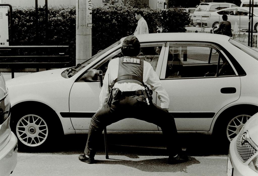 Токийский уличный фотограф Джунку Ниcимура 63