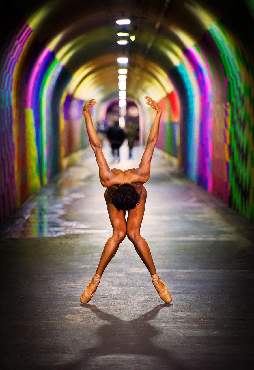 Обнажённые танцоры в фотографиях Джордана Мэттера 1