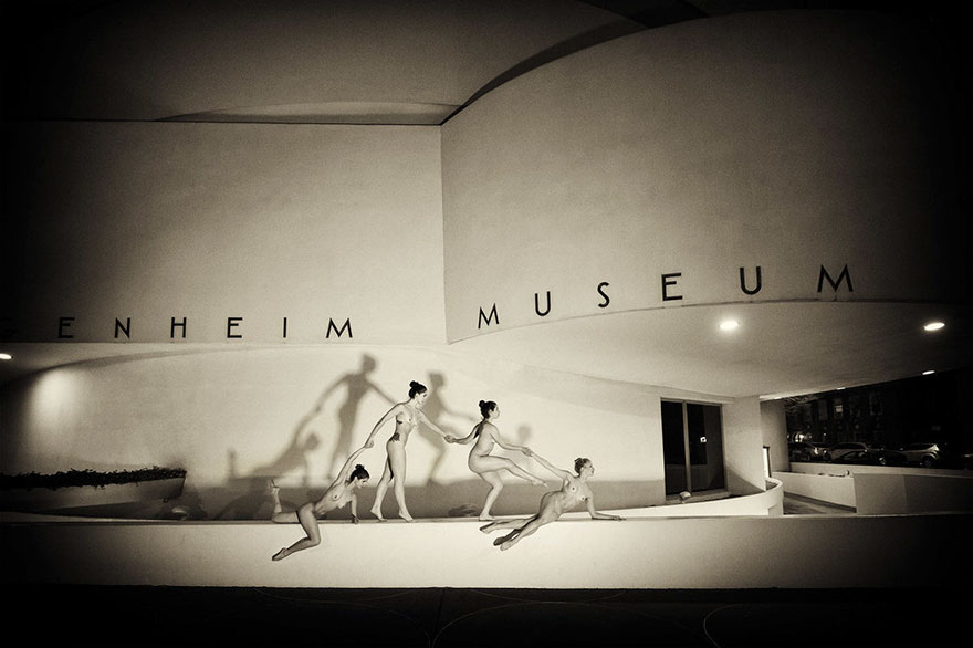 Обнажённые танцоры в фотографиях Джордана Мэттера 10