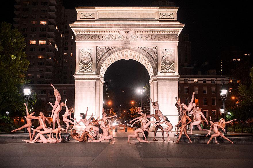 Обнажённые танцоры в фотографиях Джордана Мэттера 11