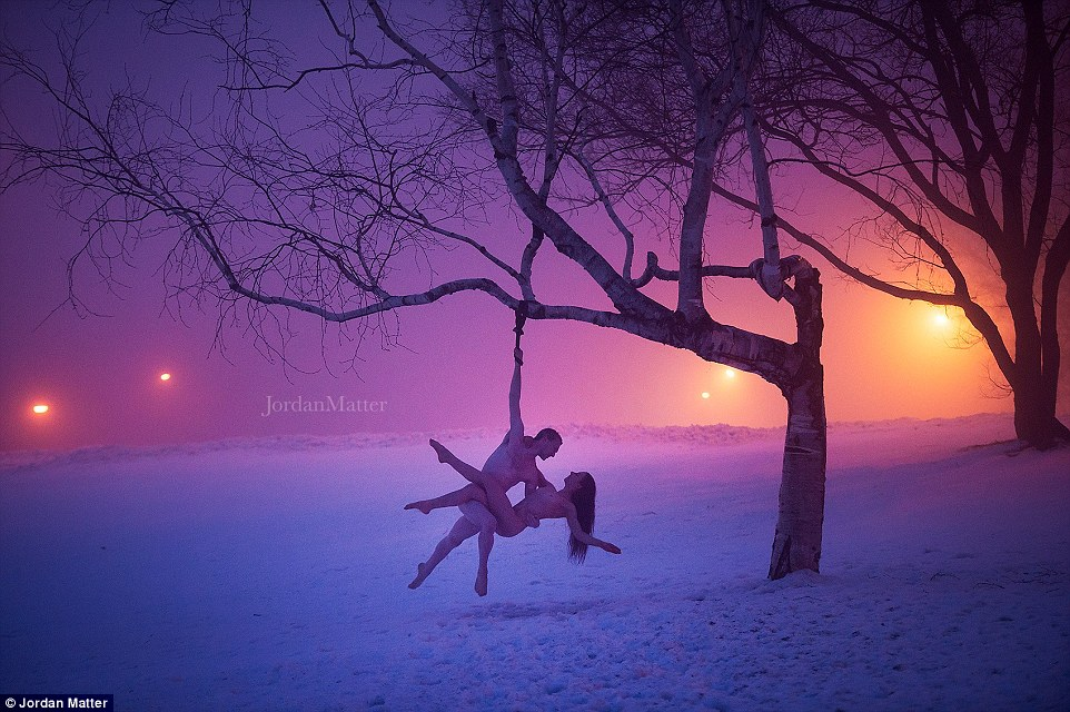 Обнажённые танцоры в фотографиях Джордана Мэттера 20