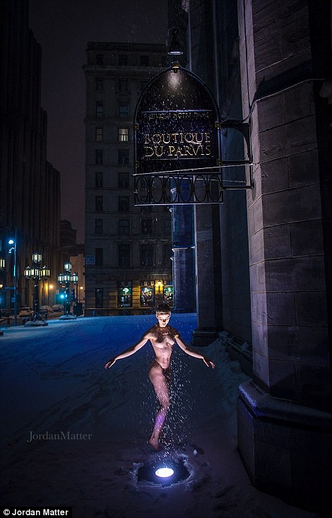 Обнажённые танцоры в фотографиях Джордана Мэттера 28