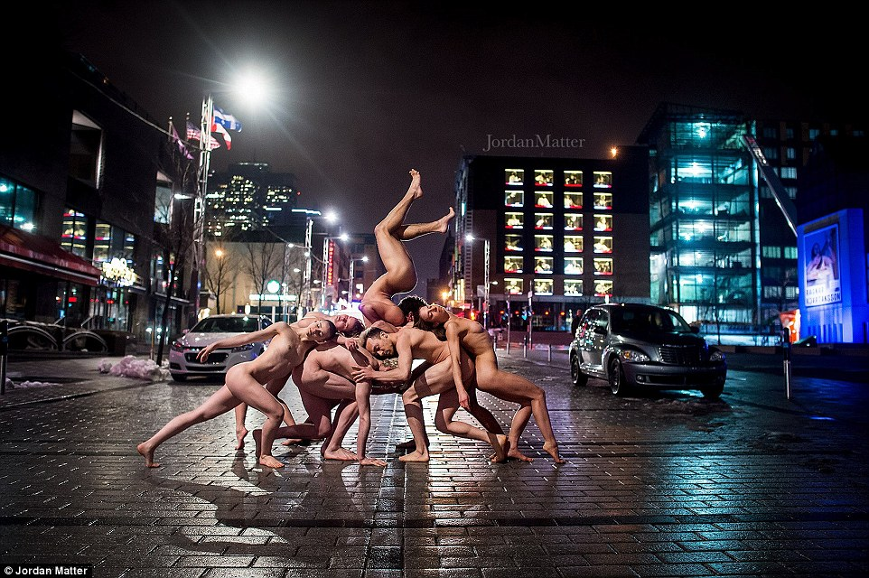 Обнажённые танцоры в фотографиях Джордана Мэттера 29